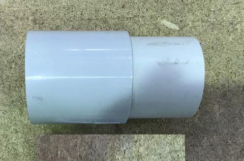 13000167 Патрубок входной для вакуумного рессивера диам. 63 мм