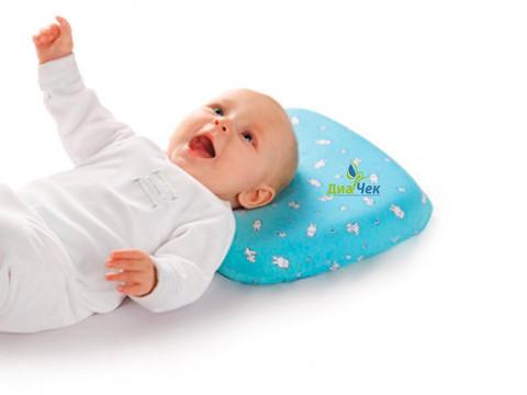 Подушка ортопедическая TRELAX Sweet под голову для ребенка до 1,5 лет П09