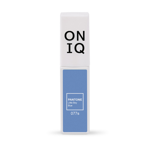 ONIQ Гель-лак 077 PANTONE: Little boy blue, 6 мл