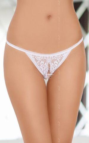 Ажурные трусики с разрезом - SoftLine Pants&Thongs 2227