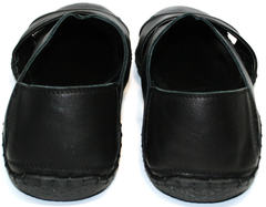 Мужские кожаные сандалии Luciano Bellini 801 Black.