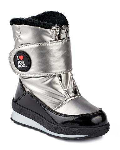 Jog Dog зимние детские сапоги CALIBRO (серебряный балтико) для девочки
