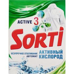 Порошок стиральный автомат Sorti Активный кислород 350 г