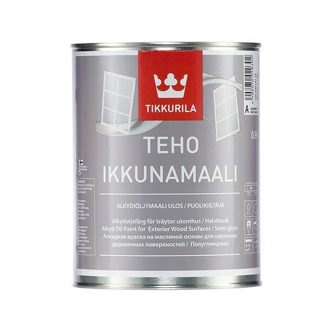 Tikkurila Teho Ikkunamaali / Тиккурила Техо Иккунамаали краска для оконных рам и дверей