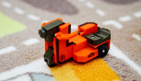 9 Трансбот Мотоцикл (цифра девять)