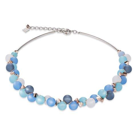 Колье Turquoise-Blue 4994/10-0607