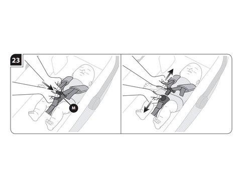 Inglesina Kit Auto комплект ремней для крепления люльки в автомобиле