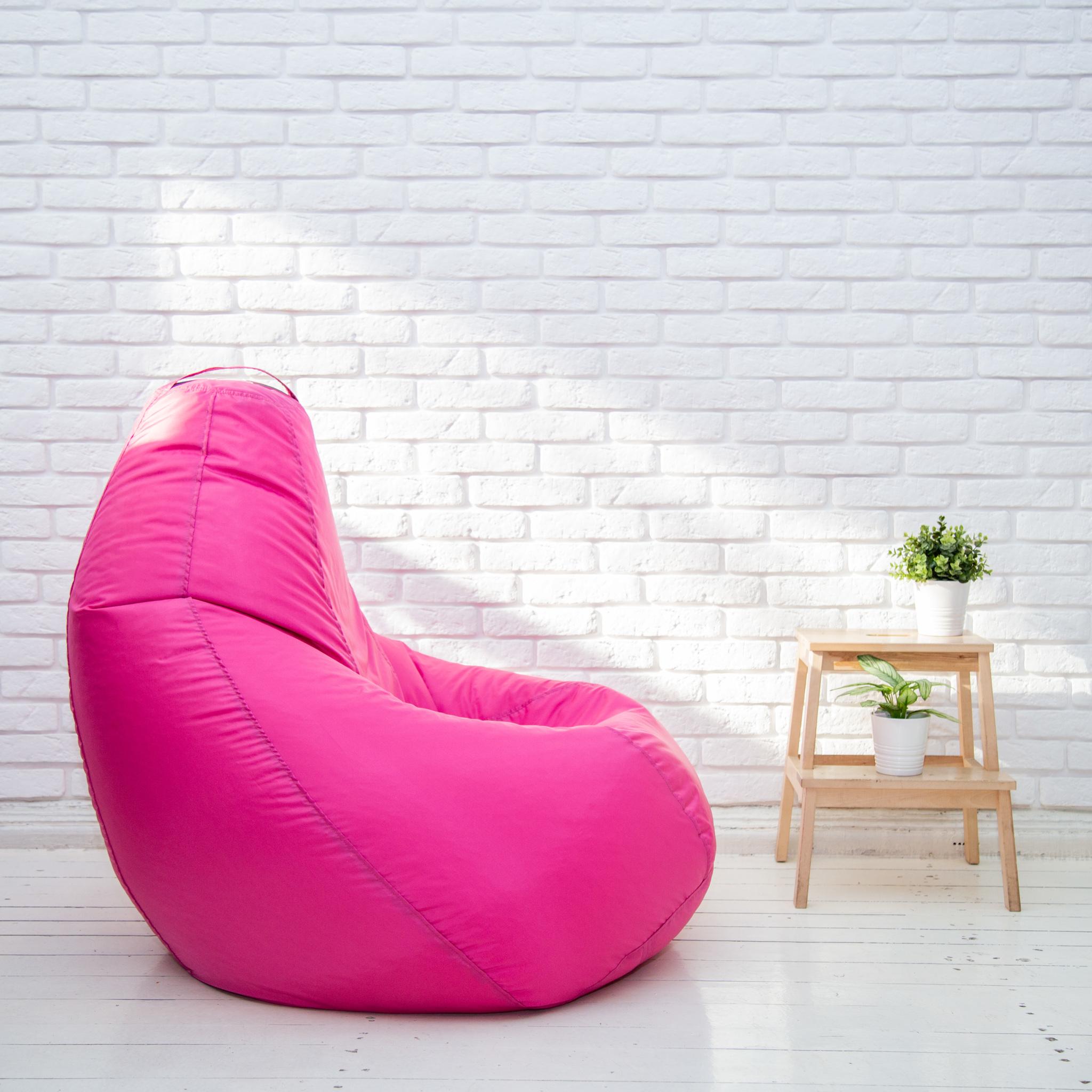 Груша XL плащёвка (розовая)