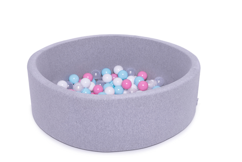 Сухой бассейн Anlipool 100/30см серый комплект №61 Cotton candy
