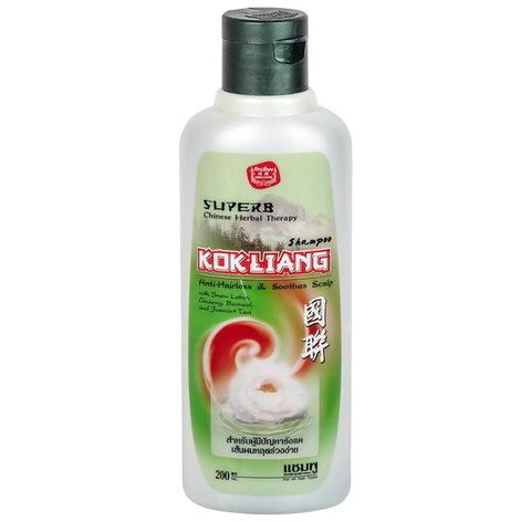 Безсульфатный шампунь от выпадения волос Kokliang Shampoo anti-Hairloss and Smoothes Scalp