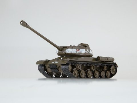 Tank IS-2 1:43 DeAgostini Tanks. Legends Patriotic armored vehicles #6