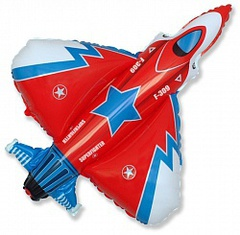 F Мини фигура Супер истребитель Красный / Superfighter Red (14