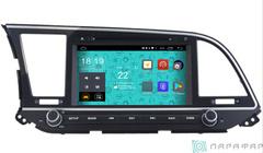 Штатная магнитола 4G/LTE с DVD для Hyundai Elantra 16+ на Android 7.1.1 Parafar PF581D