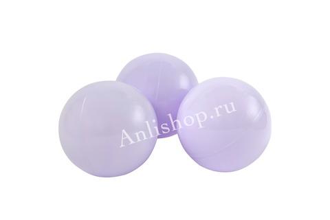 Шар нежно-фиолетовый комплект 50 шт.