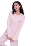Розовая пижама из вискозы DolceVita