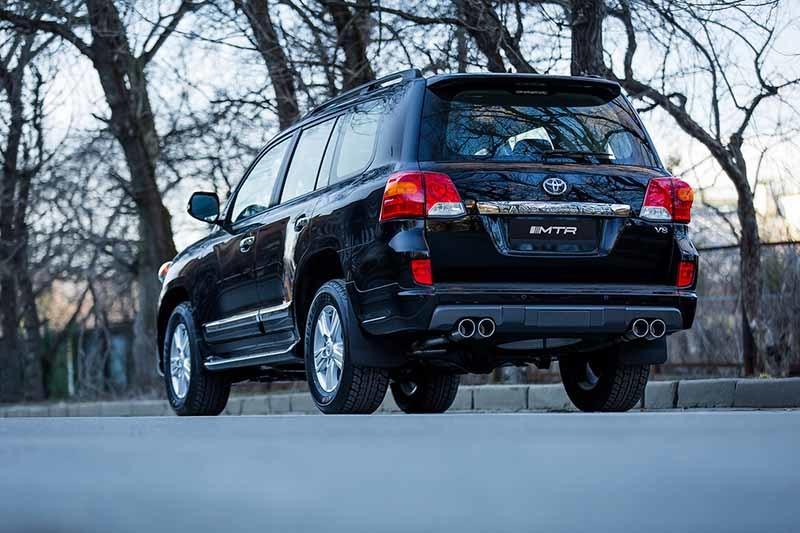 Обвес MTR Design для Toyota Land Cruiser 200 2013