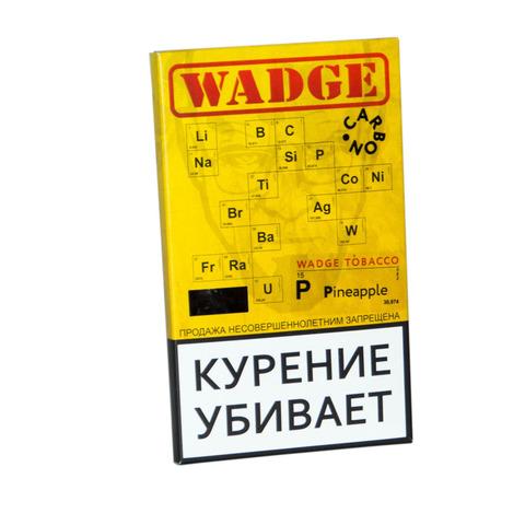 Табак WADGE CARBON 100gr Pineapple