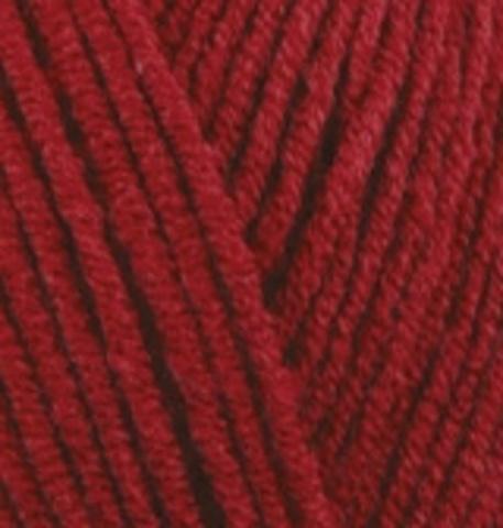 Пряжа Lanacoton Alize 56 красный, фото