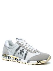 Комбинированные кроссовки Premiata Lucy-D 4548 на шнуровке