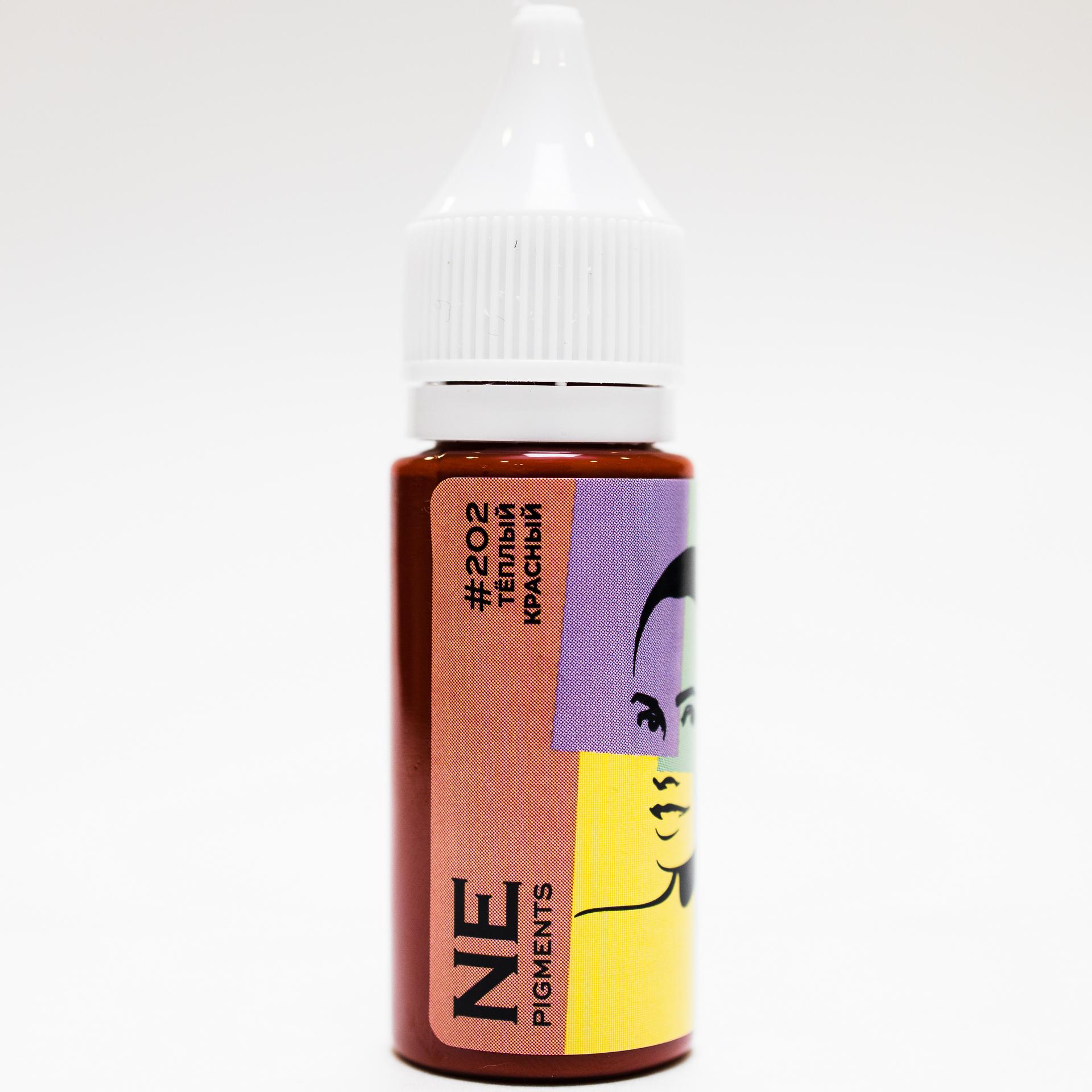 Пигмент NE Pigments #202 Теплый красный