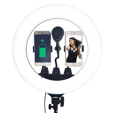 Светодиодная кольцевая лампа Ring Fill Light ZB-R18 + ШТАТИВ