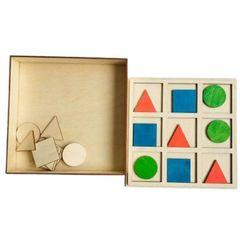 Развивающая игра Логико-формы, Сенсорика