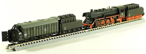 Снегоуборочный поезд на паровой тяге MARKLIN 81362
