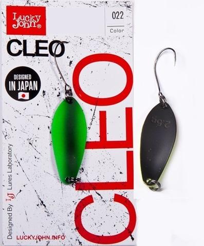 Блесна LUCKY JOHN Cleo 5 г, цвет 022, арт. LJCL50-022