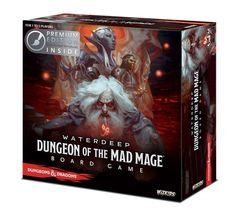 D&D Dungeon of the Mad Mage Adventure System Board Game (Premium Edition)