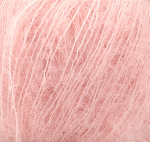 Пряжа Silk Mohair (Силк Мохер). Цвет: светло-розовый. Артикул: 6023