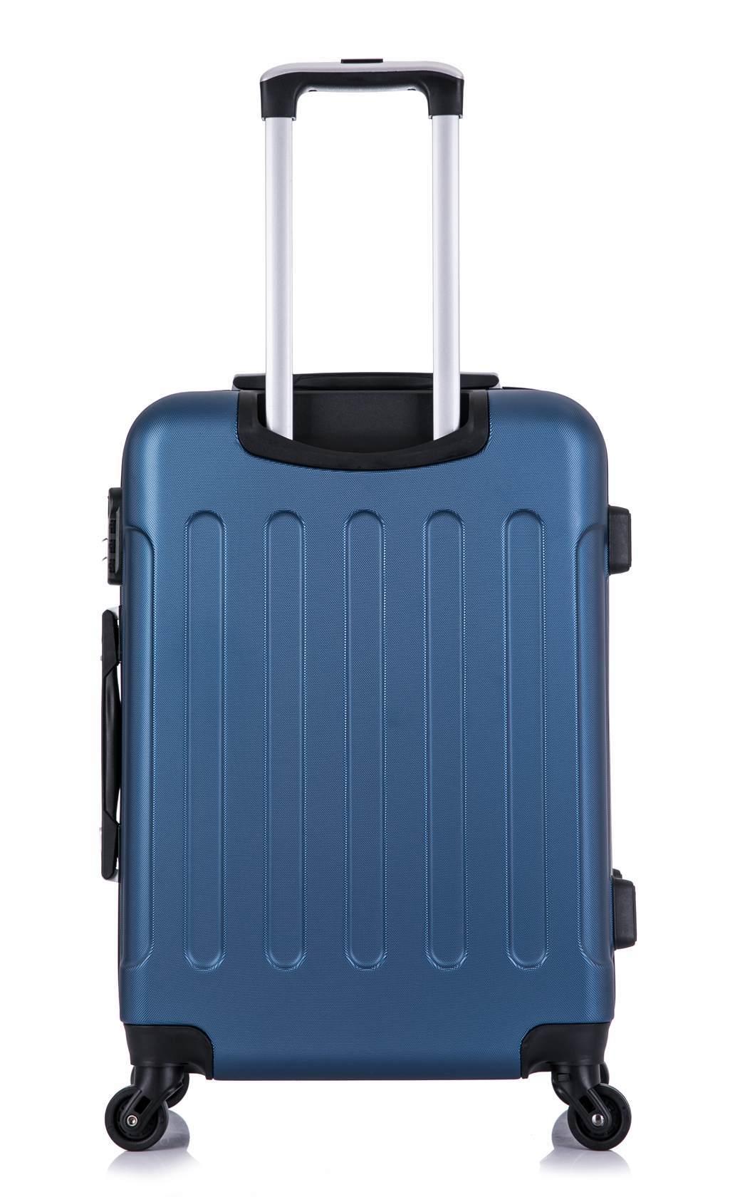 Чемодан со съемными колесами L'case Bangkok-22 Темно-синий (M)