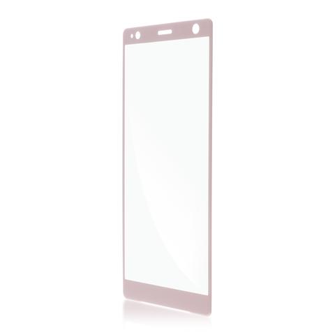 Защитное стекло для Xperia XZ2 Compact розового цвета