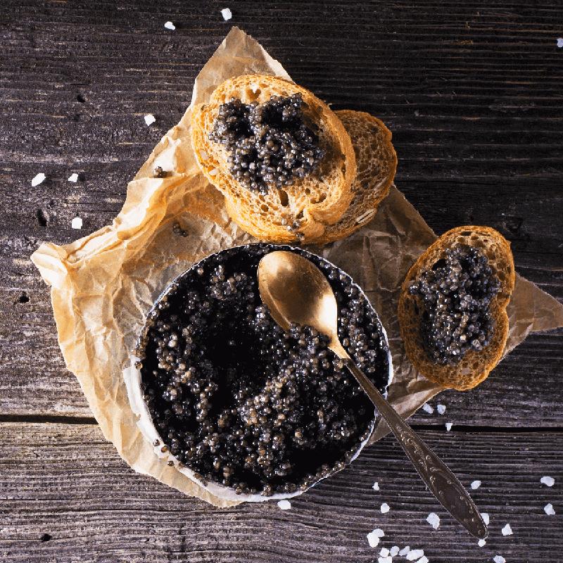 Caviar preto 125g