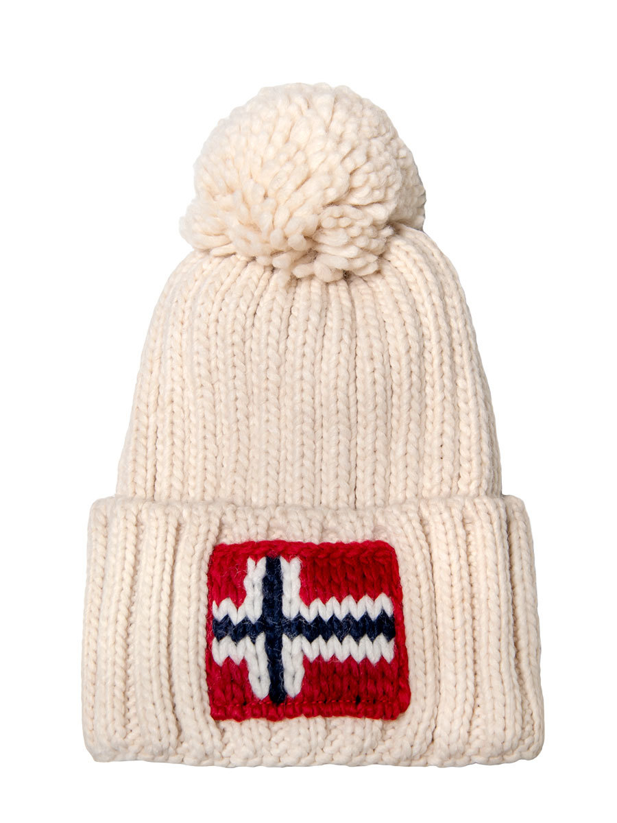 Napapijri шапка Semiury 3 бежевый - Фото 1