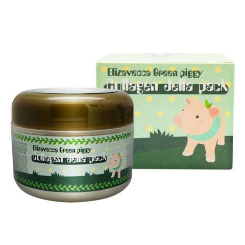 Маска для лица коллагеновая Elizavecca Green Piggy Collagen Jella Pack 100г