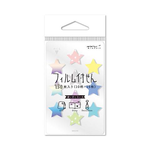 Стикеры Midori Sticky Paper Film Mini - Hoshi-gara