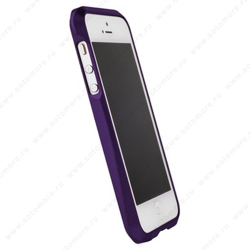 Бампер MIE COOL алюминиевый для iPhone SE/ 5s/ 5C/ 5 A6063 фиолетовый
