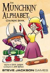 Книга-раскраска «Манчкин. Алфавит»