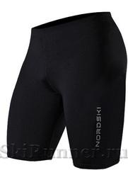 Шорты обтягивающие Nordski Premium Black-Orange мужские