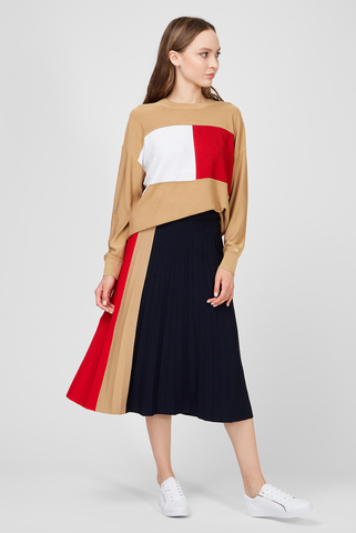 Женская юбка-плиссе ICON Tommy Hilfiger