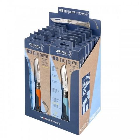 Набор Opinel  (OP-001841) №8 Outdoor Earth 14 шт 7 синих + 7 оранжевых
