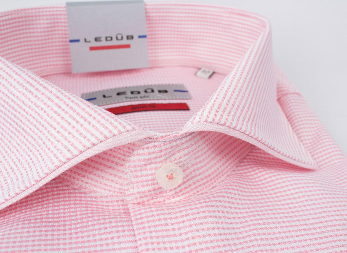Рубашка Ledub slim fit 0135881-420-430-000-SF-Pink