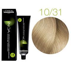 L'Oreal Professionnel INOA 10.31 (Очень яркий блондин золотистый пепельный) - Краска для волос
