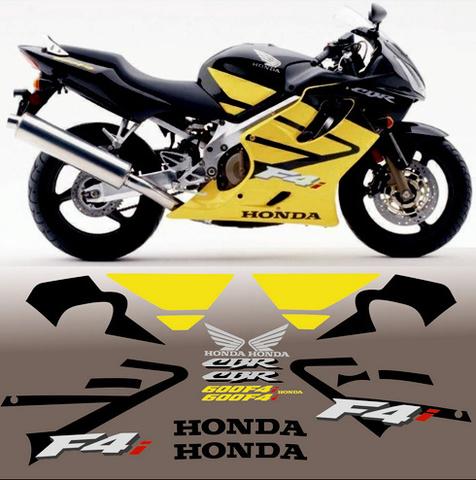 Набор виниловых наклеек на мотоцикл HONDA CBR 600 F4i 2003