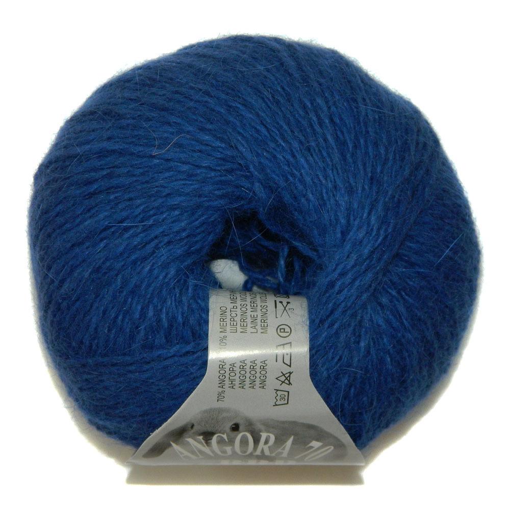 Пряжа BBB Filati Angora 70 9509 темно-синий