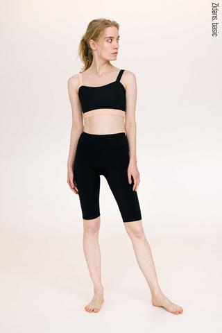 Knee length shorts stretch | basic