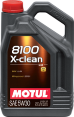 MOTUL 8100 X-clean 5W30 5л