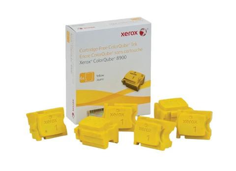 Чернила Xerox 108R01024, желтые (6шт)