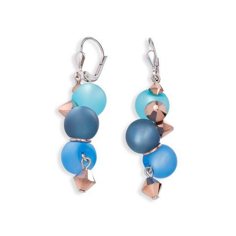 Серьги Turquoise-Blue 4994/20-0607
