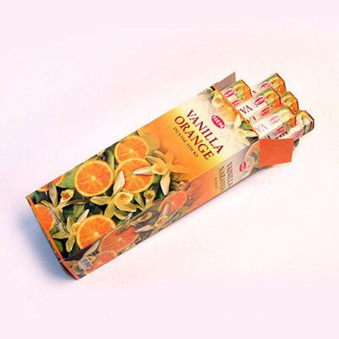 Благовония HEM ваниль апельсин (20 шт)